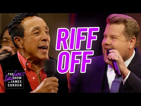 Sheri Van Dyke - James Corden Soul-Riffs With The Legendary Smokey Robinson!