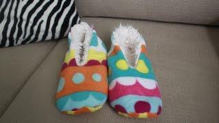 070a0797a32 DIY Sleepers EASY!! como hacer pantuflas FACIL