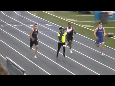 Men 200 Meter Dash | GVSU Big Meet 2016
