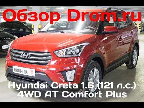 Hyundai Creta 2017 1.6 121 л.с. 4WD AT Comfort Plus видеообзор