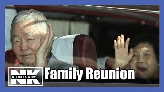 Korean families reunite