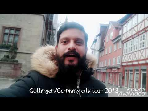 Göttingen / Germany city tour 2018