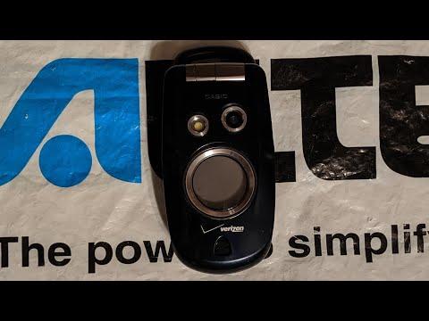 Verizon Wireless Casio G'zone Type S (C211)