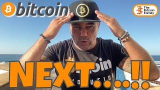 WHAT NOW?? BITCOIN NEEDS TO BREAK THIS AREA AND THEN THIS WILL HAPPEN IF WE REPEAT 2017 BUY SIGNAL!!