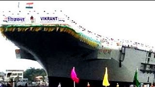 The making of India's indigenous air-craft carrier -- INS Vikrant