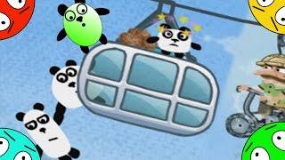 🐾 Четыре панды #5! Бразильские приключения! Мультик Игра. Видео для детей