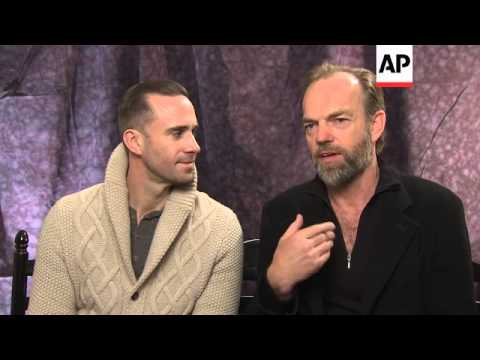 Joseph Fiennes and Hugo Weaving, stars of the Sundance film 'Strangerland,' talk about their love of