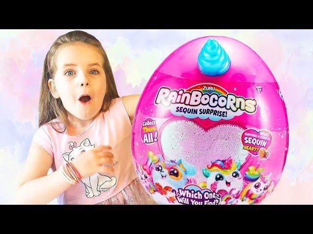 Алёна и волшебные игрушки для детей от Zuru RAINBOCORNS 🦄