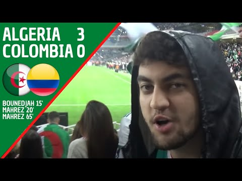 Algeria 3-0 Colombia: Matchday Experience