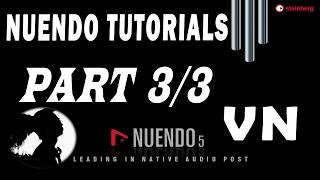 #3 Nuendo Tutorials - Mix nhạc + Mastering với Nuendo (Cubase) 5  - Trường Leo