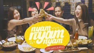 Download Video #LUNCHWITHMICHIYOORA - NyamNyamNyam - Ep 7 MP3 3GP MP4