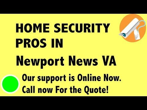 Best Home Security System Companies in Newport News VA