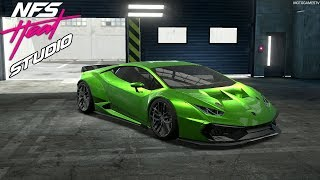 NFS Heat Studio - Lamborghini Huracan LP580-2 Customization