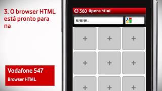 Vodafone 547 - Acesso ao Browser HTML