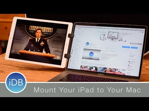 "Updated Mountie+ Lets You Mount up to the 12.9"" iPad Pro on the Side of Your Mac"
