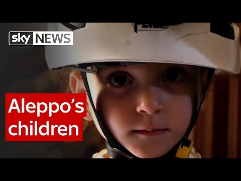 Aleppo's children: Report from Sky's special correspondent