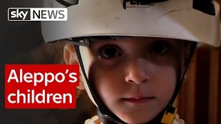 Aleppos children: Report from Skys special correspondent