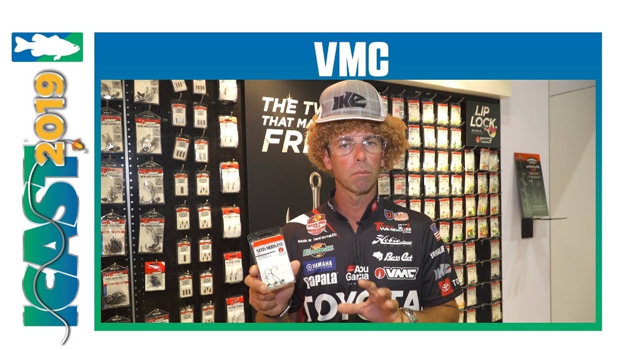 ICAST 2019 Videos - New VMC Neon Moon Eye Jig Head Colors with Mike