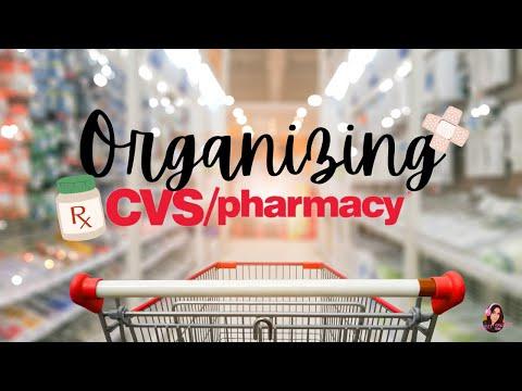 ASMR-Organizing in CVS :) *Soft spoken*