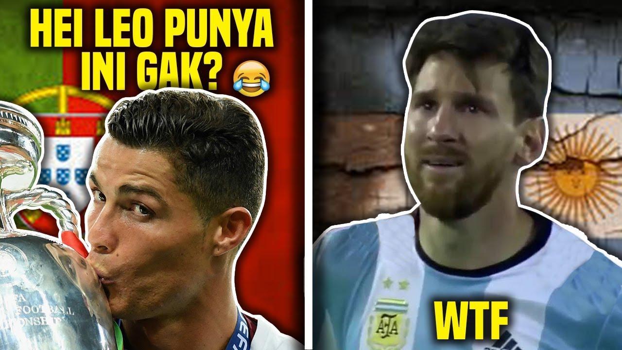 Gambar Meme Messi Vs Ronaldo