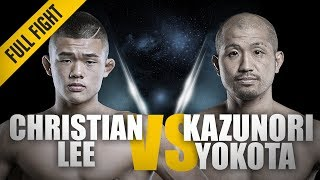 ONE: Full Fight   Christian Lee vs. Kazunori Yokota   The Terminator Guillotine   March 2018