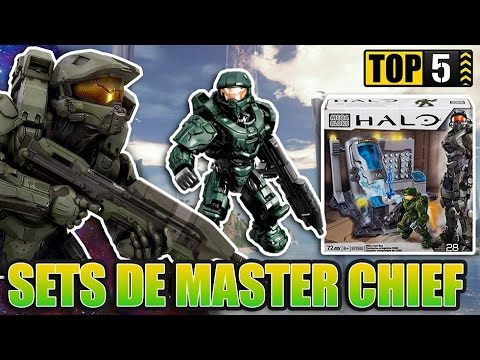 Top 5: Master Chief Sets   Halo Mega Bloks
