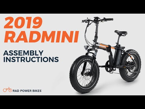 2019 Radmini And Radmini Step Thru Assembly Instructions Youtube