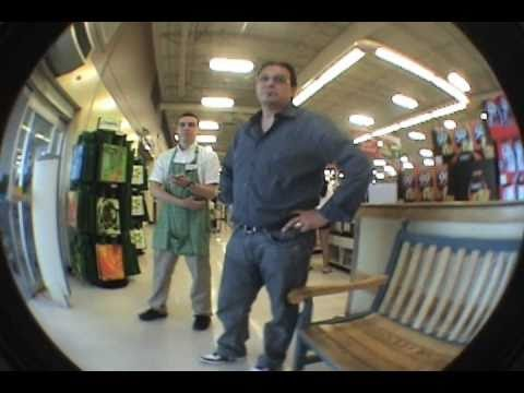 Angry Guy/Skating In A Store!+Summer Throwaway Clips