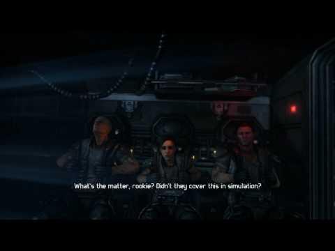 Gamers Curiosity - Let's Play Aliens vs Predator with Luke (Marine Part 1) (HD)