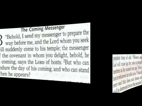 Video 5: Blessed Jesus is created to be God's chosen Servant,  Prophet and Messenger