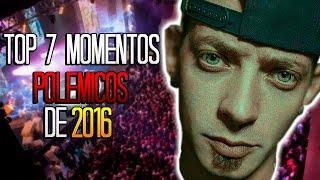 TOP 7 MOMENTOS POLÉMICOS del 2016 (Batallas de gallos) - Tess La