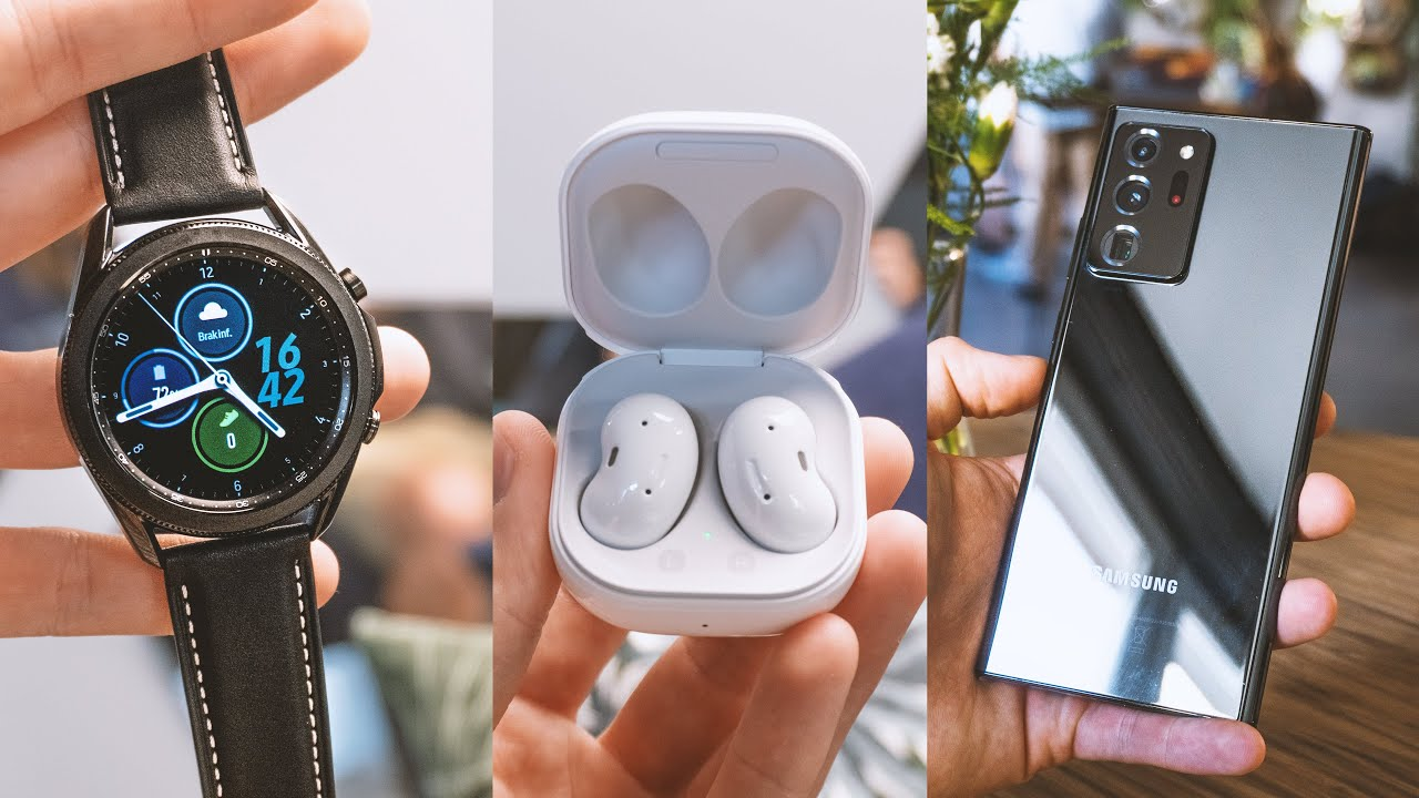 Samsung Galaxy Note 20 Ultra, Galaxy Watch 3 i Galaxy Buds Live! PIERWSZE WRAŻENIA 🔥