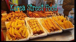 TRADITIONAL KOREAN  STREET FOOD ♡FOOD VLOG KOREA// Shine  Weather