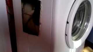 Ремонт стиральной машины CANDY(Весьма радикальный подход к проблеме ремонта стиральной машины, но если по другому никак, то почему бы и..., 2014-11-25T05:12:08.000Z)