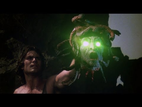 Clash of the TitansFuria de titanes,1981:The head of Medusa la cabeza de Medusa
