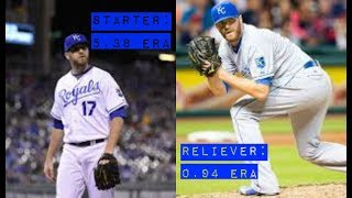 MLB Starters Who Became Great Relievers
