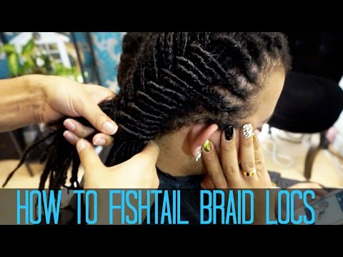 How To Do A Fishtail Braid On LOCS