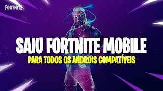 💥 FORTNITE MOBILE FOR ALL ANDROID 💥 HOW TO DOWNLOAD AND INSTALL ON COMPATIBLE DEVICES!