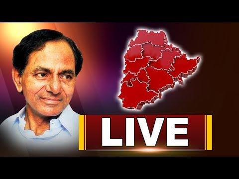 KCR Public Meet In Aler | TRS Election Campaign Live | ABN LIVE
