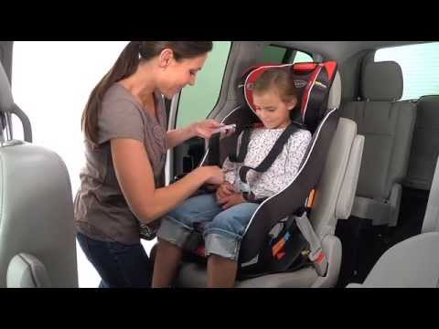 Graco Headwise 70 Convertible Car Seat Installation Video