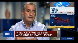 INTEL CEO on Reports of Security Flaw : INTEL CEO Brian Krzanich