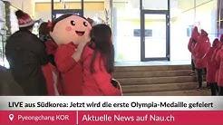 Die Schweiz feiert ihre erste Medaille an den Olympischen Spielen 2018
