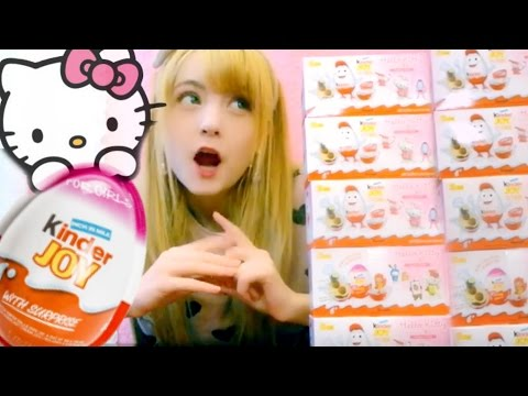 Crazy Hello Kitty Egg ♥ Unboxing