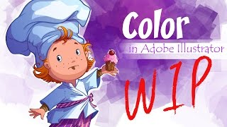 Color in Adobe Illustrator (scullion)