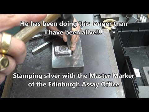 A Masterclass In Stamping Silver From The