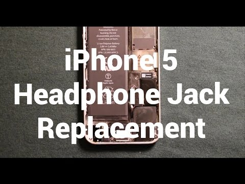 IPhone 5 Headphone Audio Jack Replacement How To Change