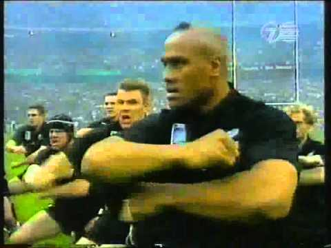 HAKA RWC 1999 ALL BLACKS VS ENGLAND