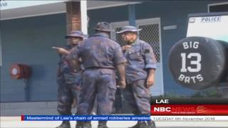 NBC Real PNG News_Crime Intellect Got arrested 081116