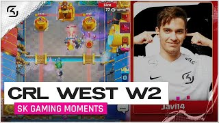 CRL West 2020 Week 2 | SK Gaming vs Spacestation | Moments