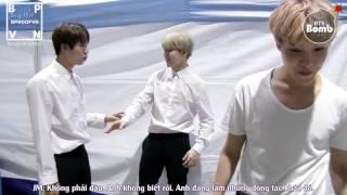 [Vietsub][BPROOFVN][BANGTAN BOMB] Jin's personal practice 'FIRE' for SBS 가요대전 2016